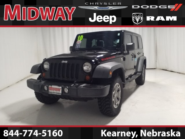 Certified Pre-Owned 2010 Jeep Wrangler Unlimited Rubicon