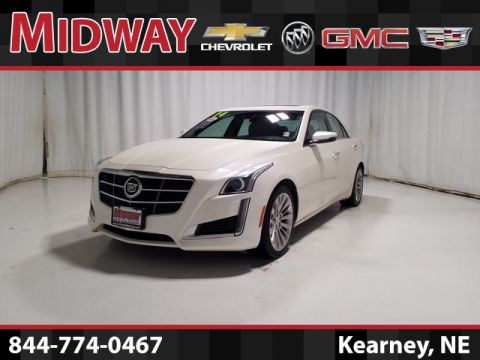 Certified Pre-Owned 2014 Cadillac CTS 3.6L Luxury